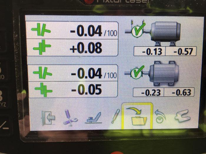 Mechanická inspekce pohonu